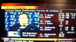 Bill Belichick post game Question FUNNY