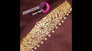Hip belts / one gram gold hip belts / bridal hip belts / vadranam