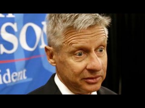 Gary Johnson has another