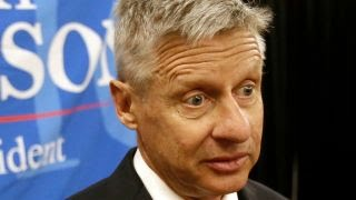 gary johnson has another aleppo moment youtube