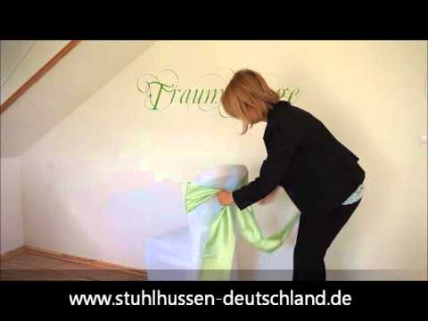 Schleife binden mit stretch husse youtube - Schleife binden youtube ...