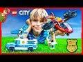 Lego City Sky Police Diamond Heist!