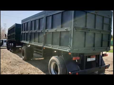 Восстановление грузового прицепа СЗАП  зерновоз (капитальный ремонт)  Второе рождение