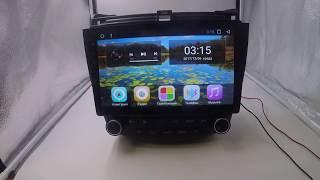 Штатная магнитола Honda Accord 7 2003 2007 Android 7 1 1 HA 1406