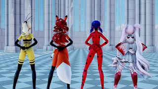 【MMD】BLACKPINK - Kill This Love ⋋_⋌ (Full ver) Miraculous Ladybug