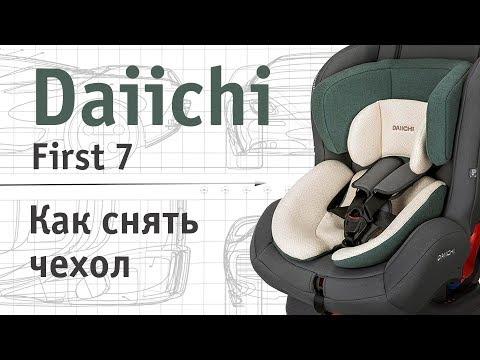 Daiichi First 7   как снять чехол   инструкция Автодети