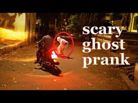 Scary Ghost Prank - funny video pranks  - latest pranks in India