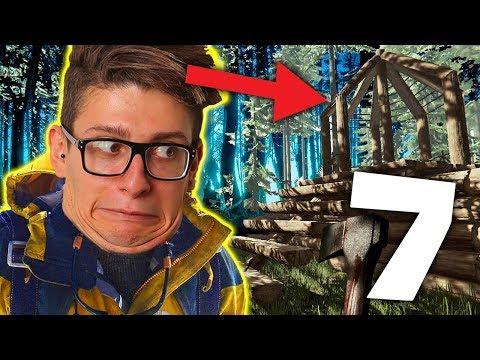LA BASE ATTORNO ALL' AEREO E LA TORRE DI CONTROLLO!! - The Forest #7