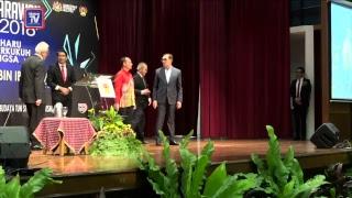 Datuk Seri Anwar Ibrahim yang menghadiri Syarahan Negarawan 2018