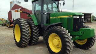 John Deere 7810 Tractor Sold for $90,000 on Ohio Farm Auction