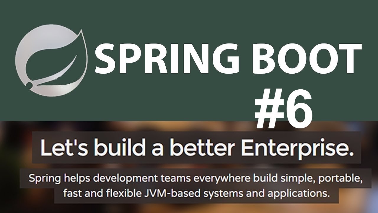 spring boot tutorial for java developers 6 thymeleaf template