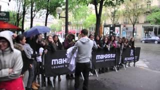Jake T. Austin In Paris