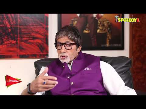 Exclusive Interview with Amitabh Bachchan | SpotboyE