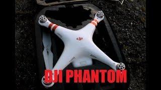 DJI PHANTOM Set Up  DUSK FLIGHT AMAZON FIRE GPS DRONE REVIEW