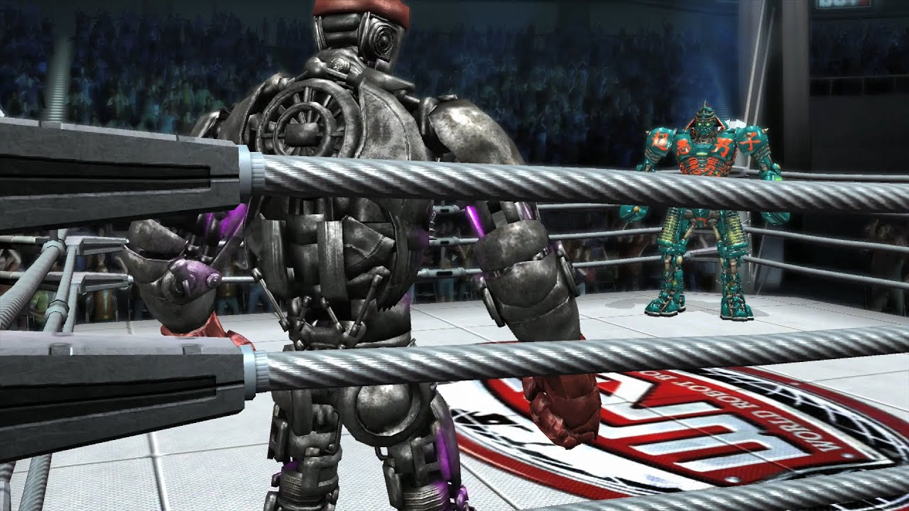 REAL STEEL THE VIDEO GAME [XBOX360/PS3] - ATOM vs NOISY BOY (CUSTOM COLOR-1)
