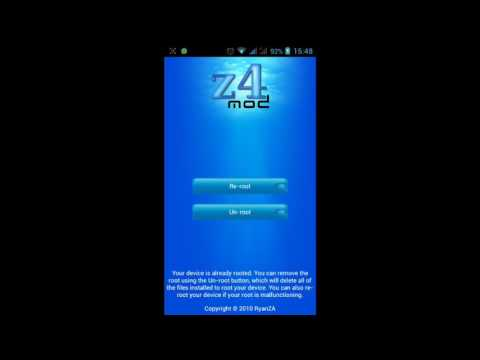 Z4root Latest Android Root Software Download - Z4root apk