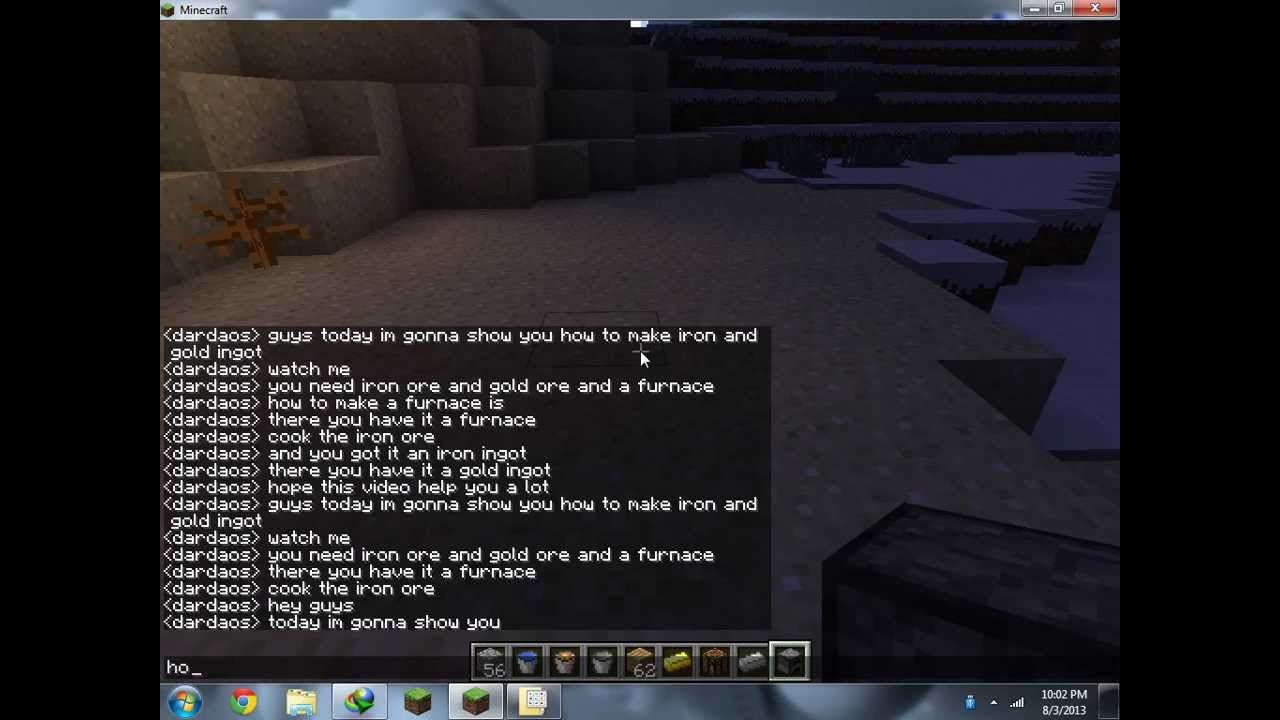 How to Make an Anvil in Minecraft » Safe Tutorial