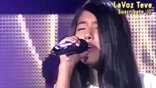 Diana Muñante - Destino de Fuego - La Voz Kids Perú 2