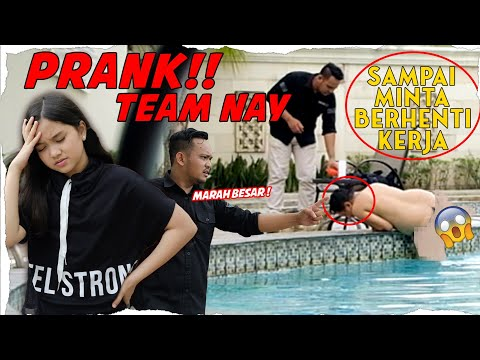 Prank Team Sampai Minta Resign