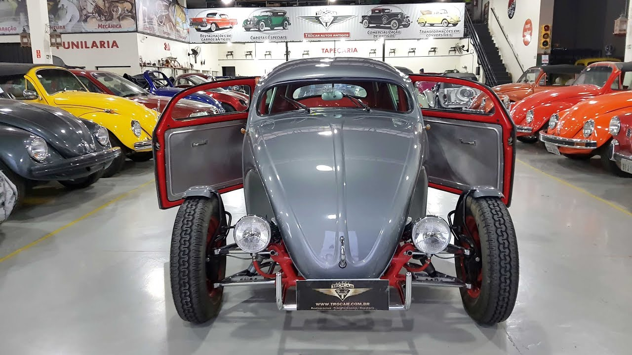 lindo fusca street rod brasileiro custom hot rod trocar autos antigos youtube. Black Bedroom Furniture Sets. Home Design Ideas