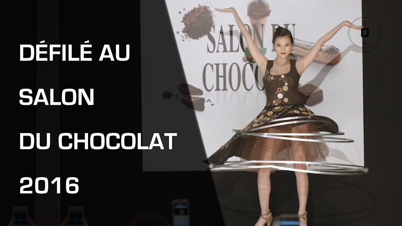 D fil au salon mondial du chocolat 2016 youtube for Salon du chocolat montauban