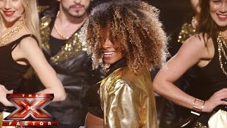 fleur east sings bruno mars mark ronsons uptown funk live semi final the x factor uk 2014