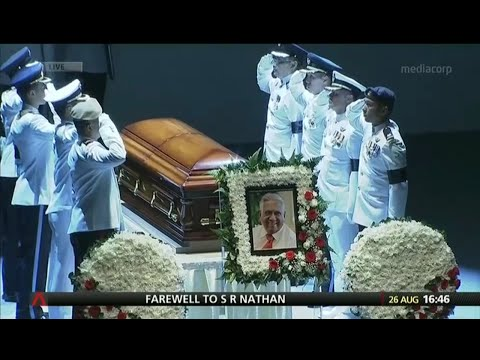 S.R. Nathan State Funeral (Full)