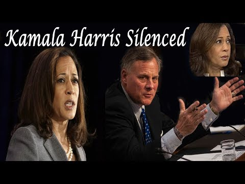 BAD NEWS: Kamala Harris gets smashed by Sen. Richard Burr during open hearings