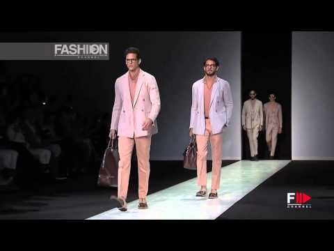 GIORGIO ARMANI Spring Summer 2014 Menswear Collection Milan by Fashion Channel HD
