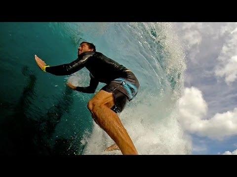 Kamalei Alexander's GoPro Angle at Backdoor