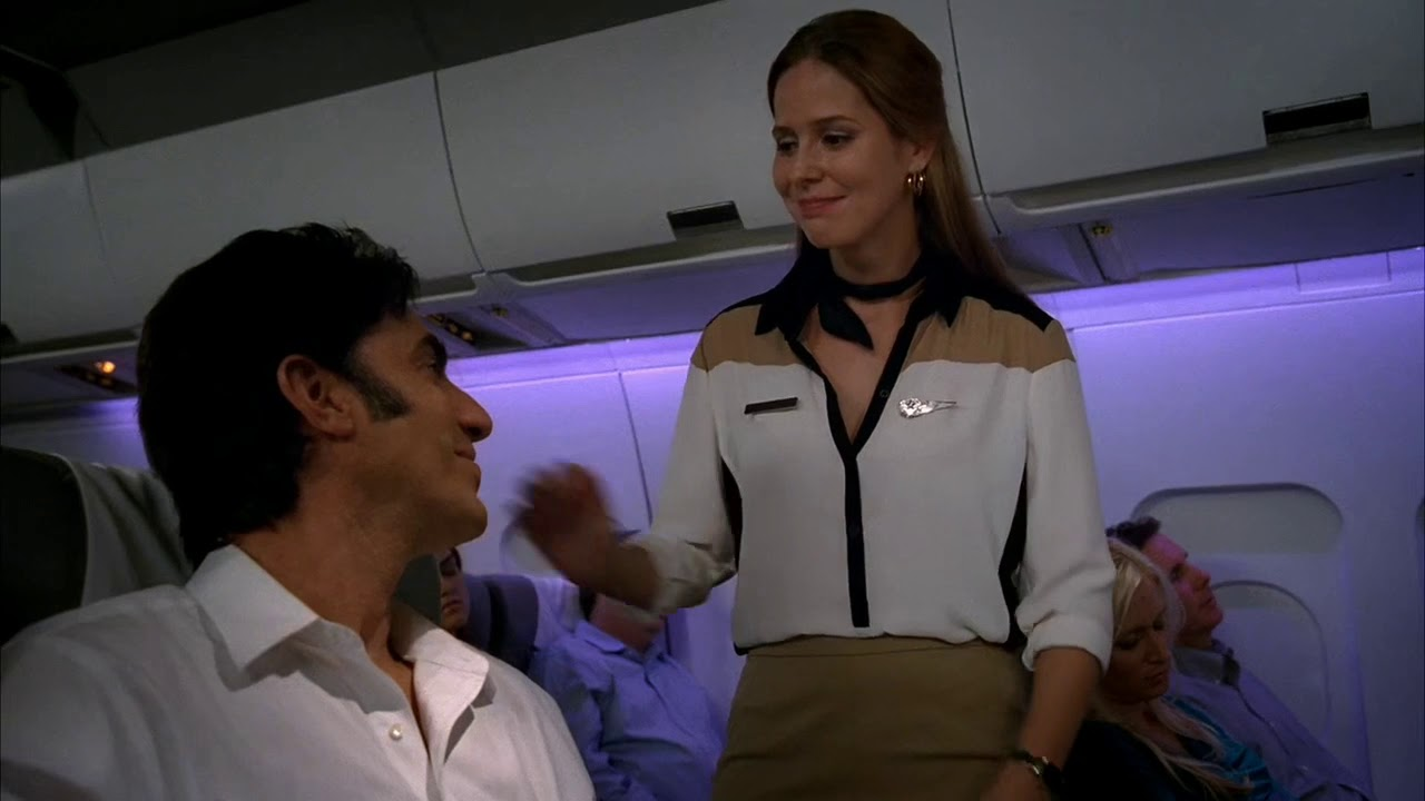Download Eastbound and Down Season 4 - Sacha Baron Cohen Shows Flight Attendant His Dick