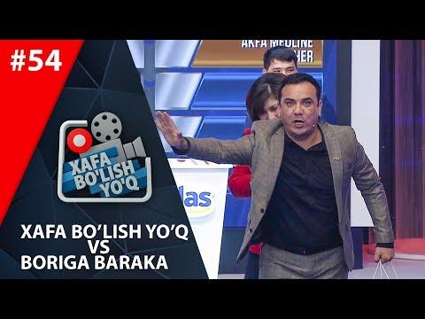 """Xafa Bo'lish Yo'q 54-son Dilshod Mirzamurodov """"BORIGA BARAKA""""  (09.02.2019)"""