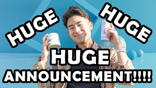 MY HUGE HUGE ANNOUNCEMENT!!!
