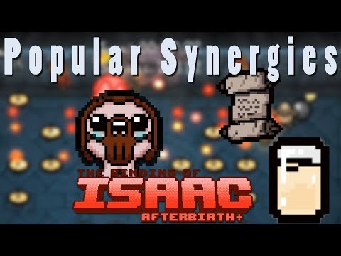 The Binding of Isaac Afterbirth Plus | Water Bendering | Popular Synergies!