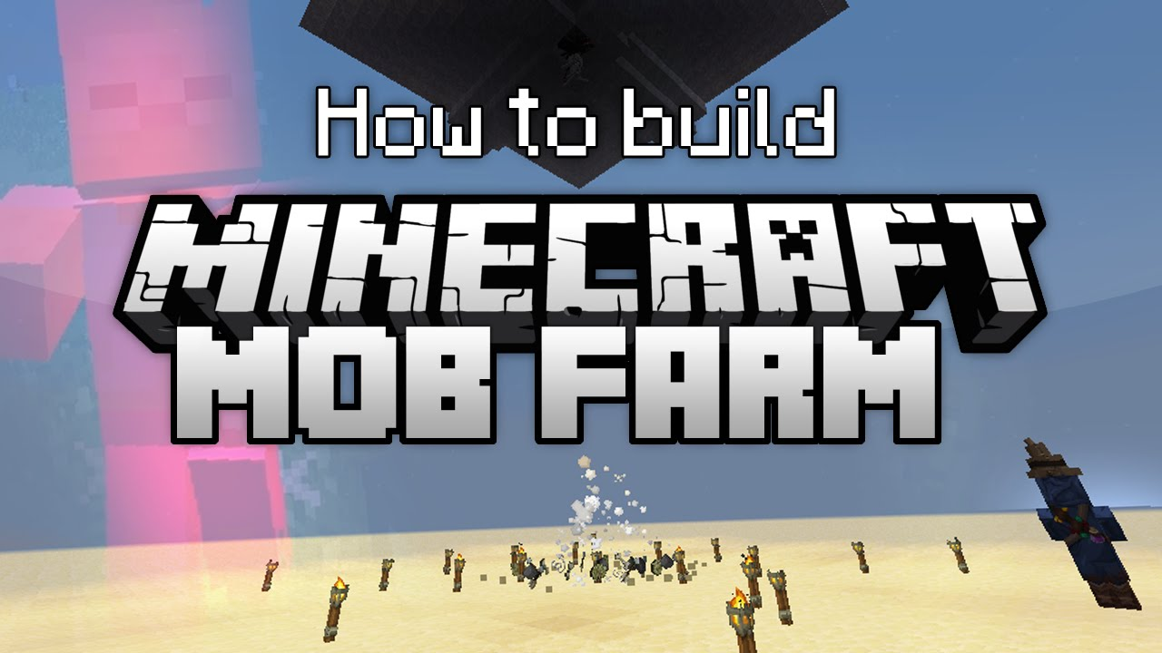 Minecraft: How to Build a Simple and Effective Mob Farm ...