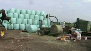 mchale wrapping big round bales