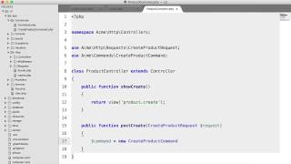 Laravel 5: What's new?: Commands & Handlers (4/5)