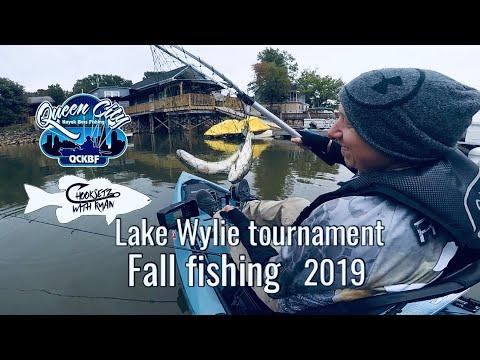 Lake Wylie Fall Fishing QCKBF Tournament 2019