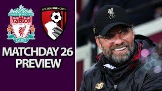 Liverpool v. Bournemouth   PREMIER LEAGUE MATCH PREVIEW   2/9/19   NBC Sports