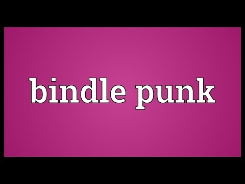 Bindle punk Meaning