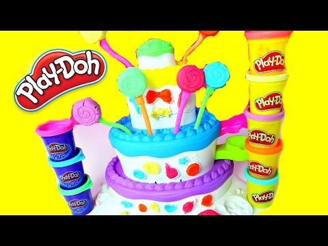 PASTEL DE PLASTILINA PLAY DOH| Play Doh Cake Playset|Mundodejuguetes