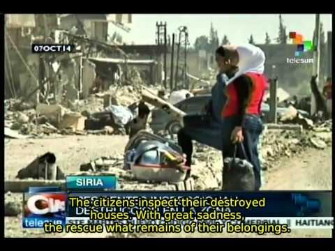 Syrian Arab Army retakes control of the city of Al Dujania
