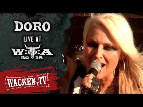 Doro - 3 Songs - Live at Wacken Open Air 2018