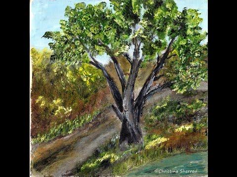 Hassayampa River Tree Palette Knife