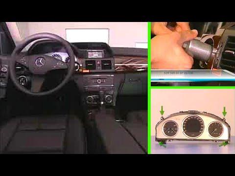 Mercedes Benz GLK | Kombiinstrument aus-, einbauen - YouTube | {Armaturenbrett mercedes 10}