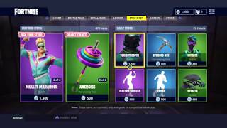 "NEW EPIC SKINS ""AEROBIC ASSASSIN & MULLET MARAUDER"" -Fortnite"