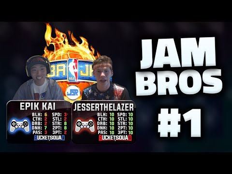 NBA JAM | THE JOURNEY BEGINS - JAM BROS w/ EPIKKAI #1