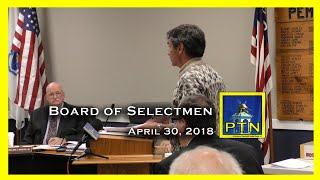 Pembroke Board of Selectmen Meets With Advisory    Town Meeting Prep