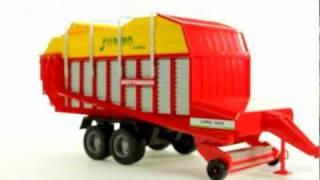 Bruder 02214 Przyczepa rolnicza Pottinger Jumbo 6600 Profiline