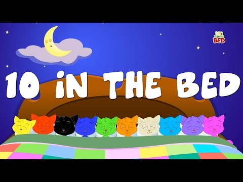 Ten in The Bed | Nursery Rhymes | Counting Song | Baby Rhymes